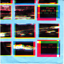 """Flash and the Pan-Down among the dead men/Man in the middle / 7""""Single von 1983"""