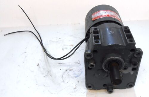SHADED POLE GEARMOTOR TYPE 63 3M328A 1//20 HP 115 VOLTS DAYTON