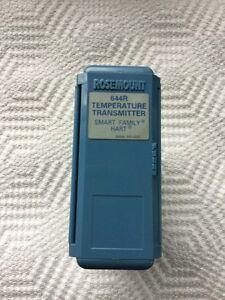 rosemount temperature transmitter 644 manual