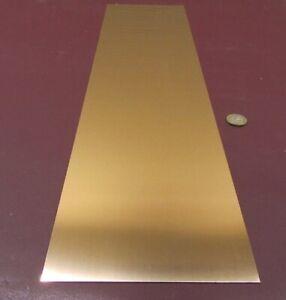 "+//-0.0007/"" 510 Bronze Shim .010/"" x 6.0/"" Wide x 50/"" Length"