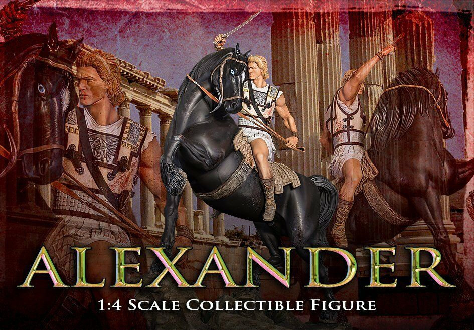 ARH Studios Statue 1 4 Alexander The Great Regular Edition (Damage.)