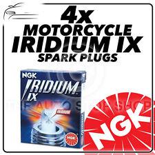 4x NGK Iridium IX Spark Plugs for KAWASAKI 600cc ZX600 G1-G2 ZX-6R  98->99 #3521