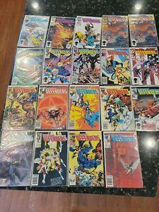 The New Defenders Comic Lot 19 issues 125-152 Marvel Comics great shape