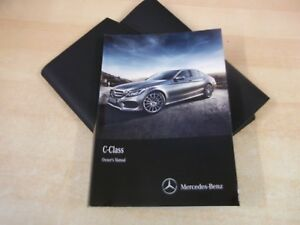 MERCEDES-C-CLASS-OWNERS-MANUAL-HANDBOOK-2014-2017-INC-AUDIO-20-wallet-OE