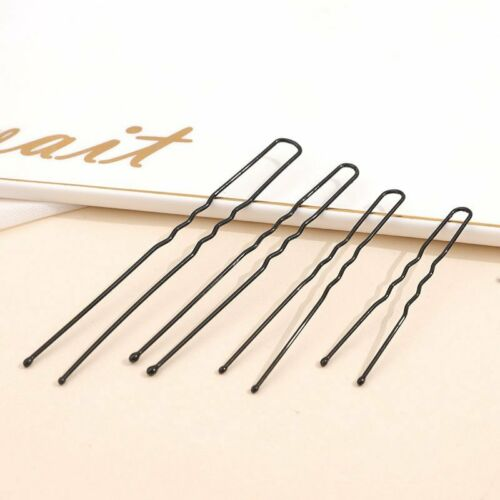20//40x Bun Pins Ladies Bob Kirby Hair Grips Pack Slides Wavey Bobby Styling Lot