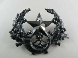 Military-Badge-The-Cameronians-Scottish-Rifles-British-Army-Infantry-Blackened