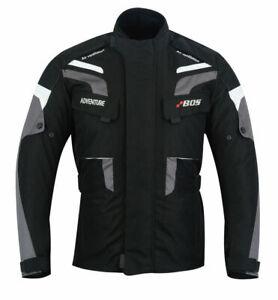 Motorradjacke-Textil-Protektoren-Herren-Jacke-Motorrad-Jacke-Roller-Biker-Jacke