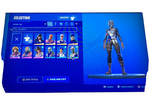 Fortnite Account Ps4 Plus Save The World Ebay