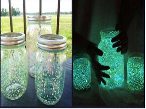 Graniglia sabbia in vetro fotoluminescente/fosforescente per colorare barattoli