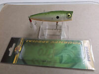 Custom Painted Bass Pro Shops Tourney Special Pop N Splash Popper,muddy Pup
