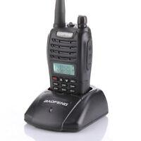 Brand New Baofeng 2014 Newest UV-B6 Dual Band VHF and UHF Walkie Talkie, 5-watt