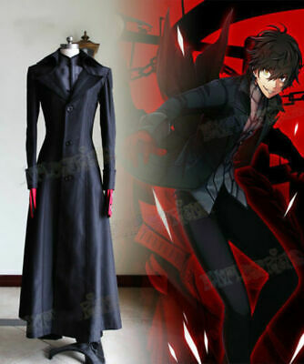 Details about  /Shin Megami Tensei Persona 5 Cosplay Joker Ren Amamiya Costume Outfit