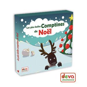 Les-plus-belles-comptines-de-Noel-CD-Livret