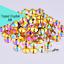 Acrylic-Crystal-Rhinestones-Pearls-Bead-Flat-Back-MIX-3-SIZES-Nail-Art-Gems thumbnail 7