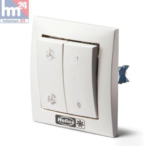 Helios MVB Betriebsschalter 0-1-2 für Multivent-Rohrventilatoren 6091     | Modernes Design  | Authentische Garantie  | Schnelle Lieferung