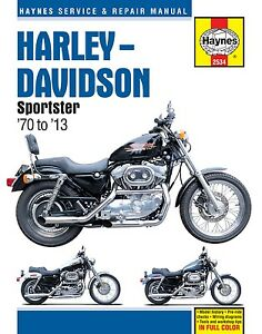Haynes-Manual-2534-Harley-Davidson-Sportster-70-13-workshop-service-repair