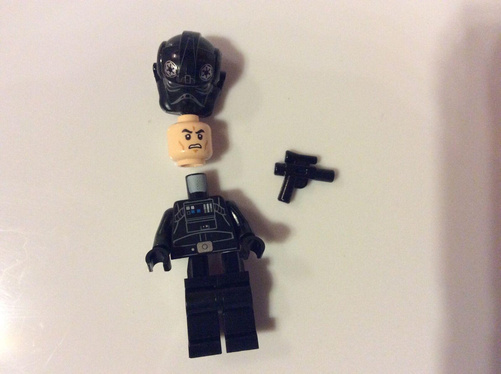 New Tie Lego Star Wars Tie New Pilot Mini Figure From Rebels Set 75106 Imperial Assault c5df1c