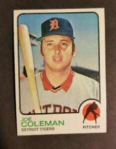 Details About 1973 Topps Baseball Card Excellent 120 Joe Coleman Detroit Tigers