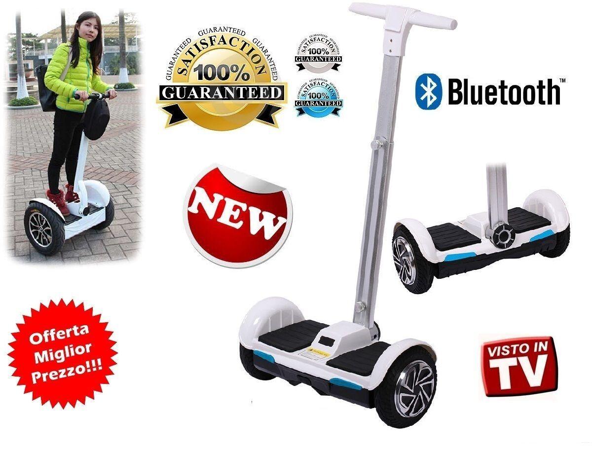 SCOOTER  ELETTRICO 2 RUOTE HOVERTablero MANUBRIO SMART AUTOBILANCIATO azulTOOTH  marcas en línea venta barata