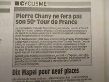 JOURNAL DU DECES DE : PIERRE CHANY - 19/06/1996 -