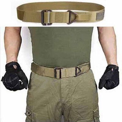 Adjustable Survival Tactical Belt Emergency Rescue Rigger Militaria Military CQB