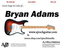 Custom Guitar Lessons - Learn Bryan Adams - DVD Video