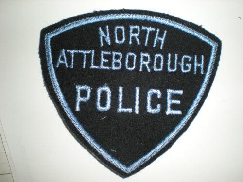 NORTH ATTLEBOROUGH MASSACHUSETTS POLICE DEPARTMENT PATCH