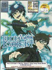 BLUE EXORCIST - ANIME TV SERIES DVD (1-25 EPS-END +MOVIE +10 SP) | BUY 1 FREE 1