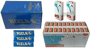 600-RIZLA-BLUE-ROLLING-PAPERS-600-SWAN-COOL-MENTHOL-EXTRA-SLIM-FILTER-TIPS