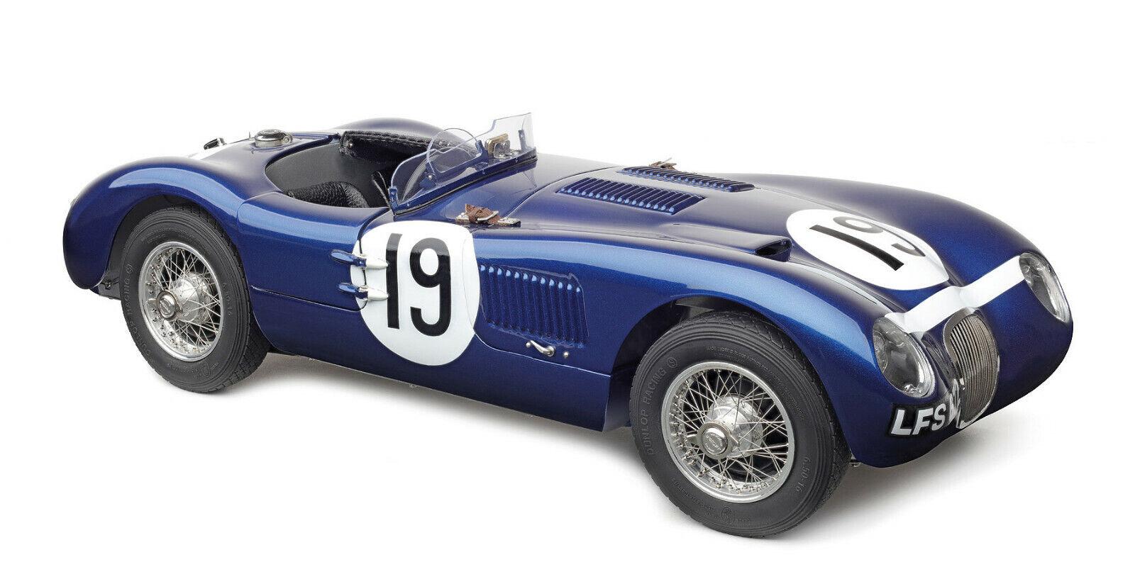 Nuevo  CMC M-192 Jaguar C-type Ecurie Ecosse, Jimmy Stewart Envío Gratuito