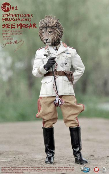Toy City 1/6 SM Synthetisches Uomochliches  1 SEE MOSAR w/Diorama