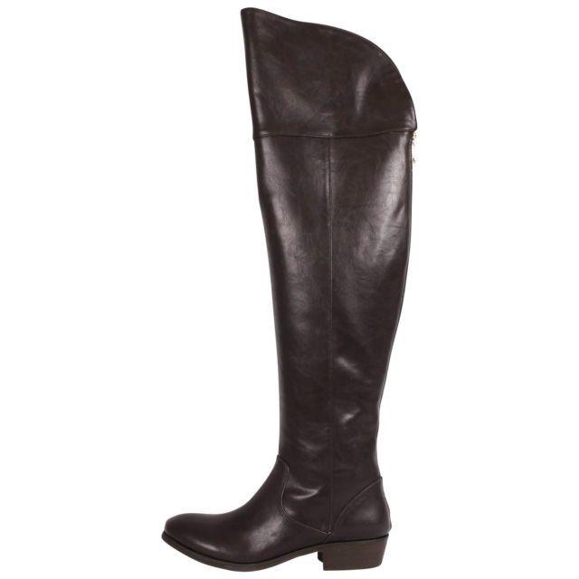 Report Gemi Dark Brown Over the Knee Boot Women's Size 6.5 M US