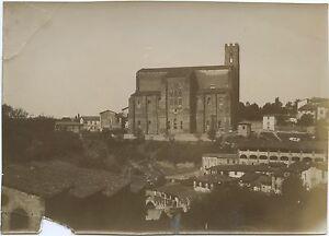 San Dominica Da Siena Italia Vintage Aristotipia Ca 1900