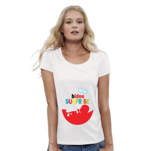 T-shirt FEMME BIDOU SURPRISE