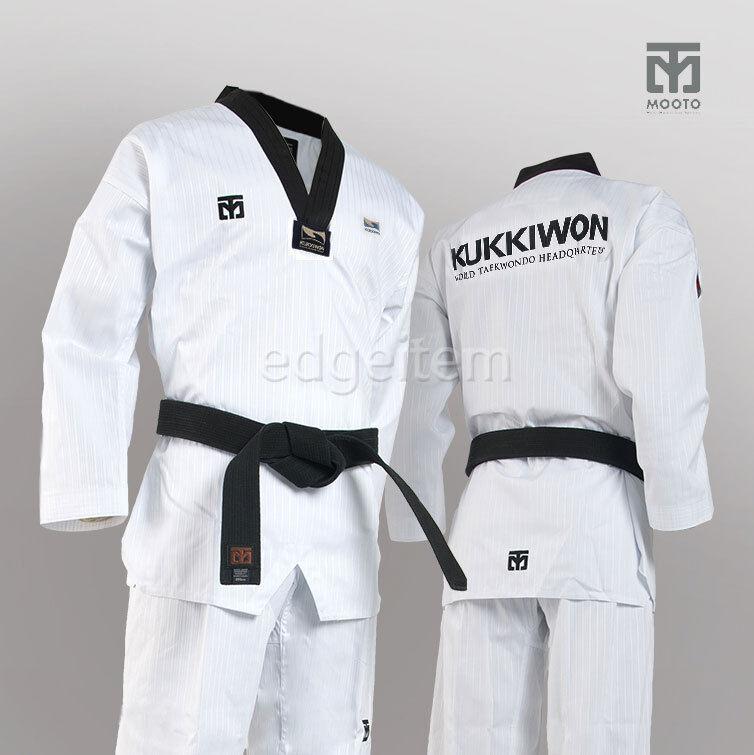 MOOTO BS4 KUKKIWON Uniform Tae Kwon Do TKD Taekwondo WTF Dobok