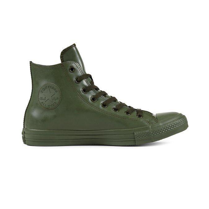 CONVERSE All Star Hi Rubber  Sneakers Alte Unisex art. 1551156 col. collard
