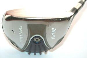 Williams-Golf-Mr-3-Holz-mit-Fujikura-WSF-63g-Steif-Flex-Graphitschaft