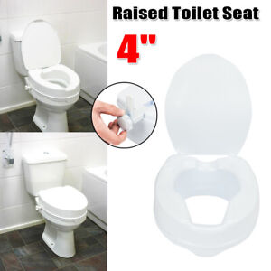 Awe Inspiring Details About 4 Adjustable Height Medical Elevated Toilet Seat Riser Safety Padded W Cover Uwap Interior Chair Design Uwaporg