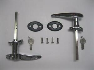 1932 Ford Closed Car Outside Exterior LOCKING Door Handles w ...