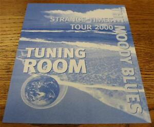 OTTO-Backstage-Concert-Door-Sign-THE-MOODY-BLUES-Strange-Times-Tour-TUNING-ROOM