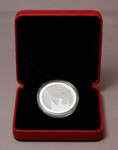 Poland 2005 Pope John Paul II Pilgrim of Peace Silver Proof Medal Jan Pawel Box