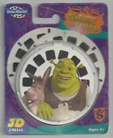 Shrek The Third 3-d View Master Reels 3pk