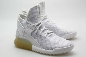 half off 1cbee ade97 Details about Adidas Men Tubular X Primeknit (grey / white / light solid  grey) AQ2693