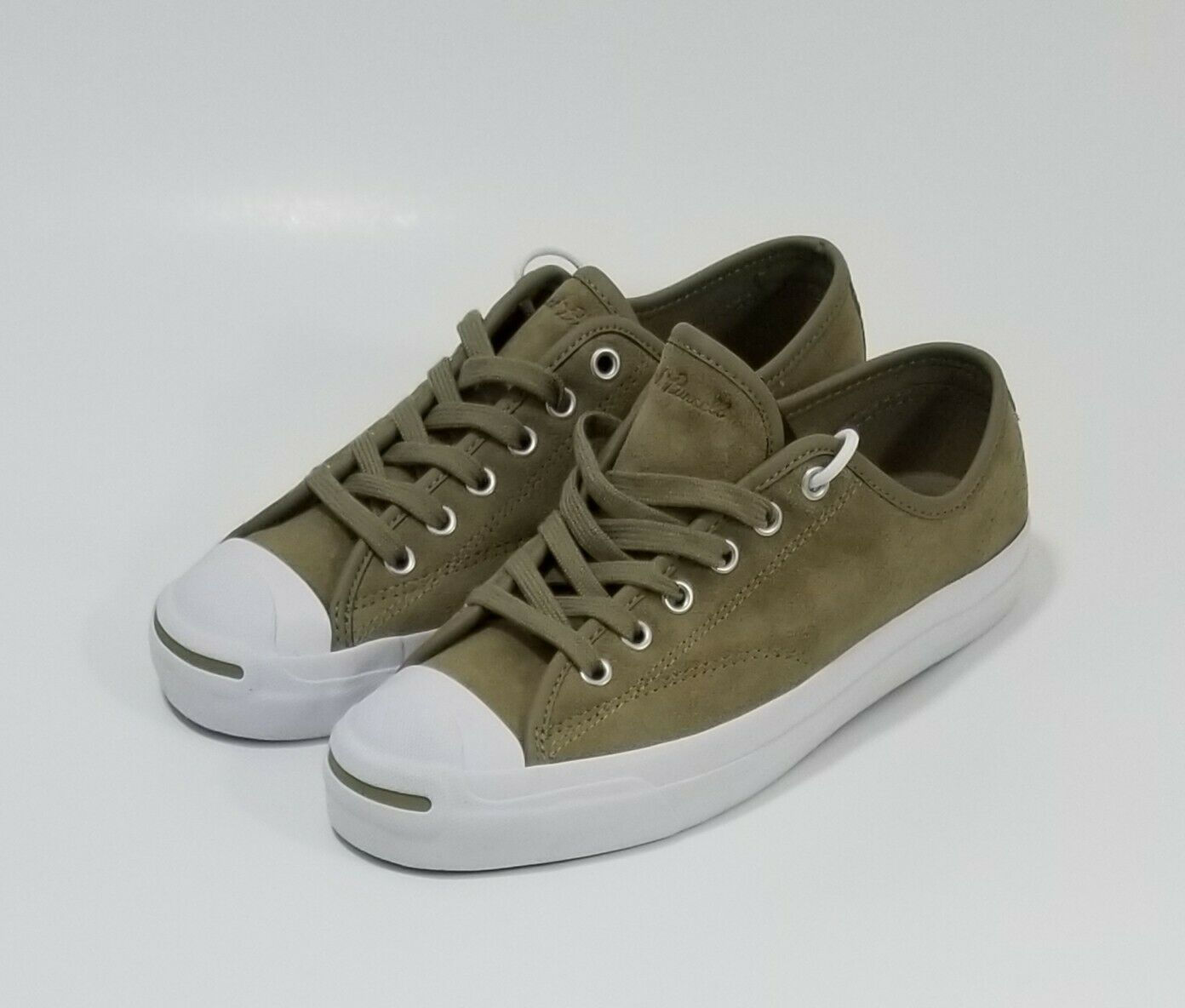 Converse Jack Purcell PRO OX Low Top shoes Women Size 8 Khaki Tan Suede