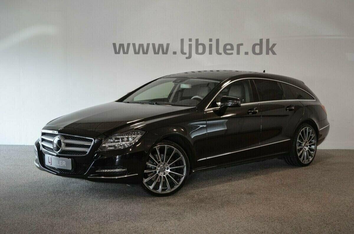 Mercedes CLS350 3,0 CDi SB aut. 4-M BE 5d - 379.800 kr.
