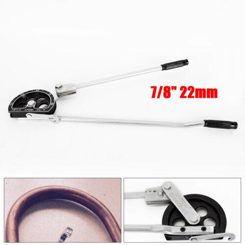 Manual Tube Pipe Bender Tool for 7//8/'/' OD Aluminum COPPER Steel Refrigerant Tube