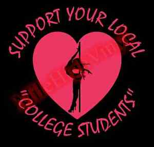 Support-College-Students-Stripper-Dancer-Vinyl-Decal-Sticker-Window-Glass-Car
