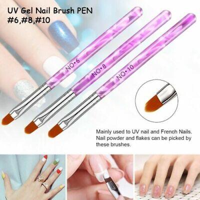 acrylic nail art 7pcs pen nib modifier neutral pen