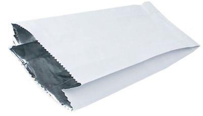 Papel revestido de aluminio bolsas de calidad alimentaria también pan de ajo Pizza pollo quita X 500