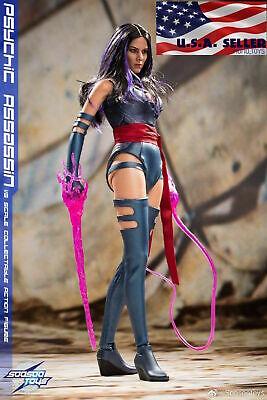 1//6 Psylocke figurine USA SooSoo Toys Hot Psychic assassin X-men era